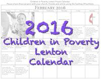 2016 Pray Calendar button