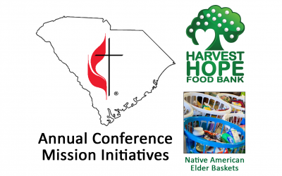 Elder baskets, food drive provide options as AC2019 Mission Initiatives