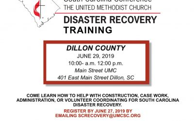 Disaster Recovery training set for June 29