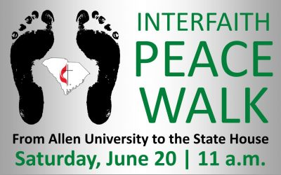 Bishop Holston invites S.C. United Methodists to Interfaith Peace Walk