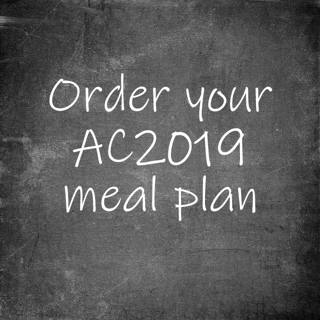 2019 Annual Conference Meal Plan - The South Carolina United