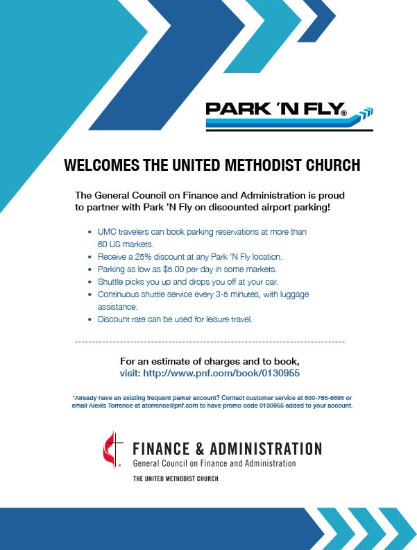 park n fly printable coupons park n fly for united methodists the south 23899 | Park N Fly General