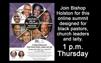 """""""Virtual Conference For Black Church Pastors, Leaders and Laity"""" set for April 9"""